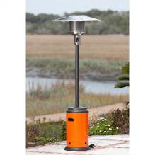 Mocha And Tuscan Orange Powder Coated Patio Heater