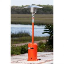 Orange Powder Coated Patio Heater