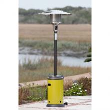 Mocha And Chartreuse Green Powder Coated Patio Heater