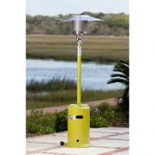 Green Powder Coated Patio Heater