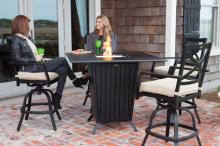 High Mission Gas Fire Pit Bar Set