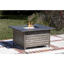 Madaket Extruded Aluminum Square Lpg Fire Pit
