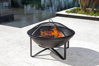 Highland Wood Burning Fire Pit