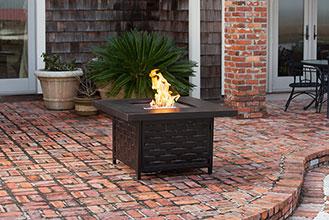 Armstrong Cast Aluminum LPG Fire Pit