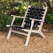Vega Driftwood Outdoor Chair