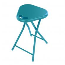 Folding Stool With Handle In Capri Breeze - 4 Pack