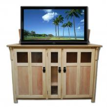 Bungalow Unfinished TV Lift Cabinet