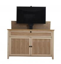 The Claymont Unfinished 70163 TV Lift Cabinet for 65