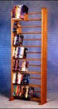 280 DVD dowel storage rack, item 705
