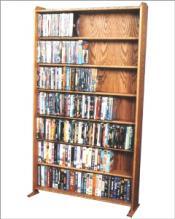 VHS/ DVD storage rack
