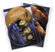 Atlantic 25 Pack Movie Sleeves