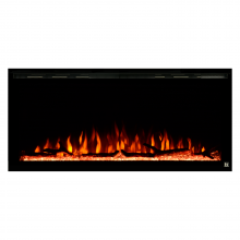 Sideline Elite 42 inch Recessed Electric Fireplace