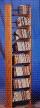 208 CD Backless Dowel Storage Rack