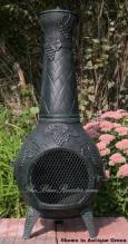 Grape Chiminea Outdoor Fireplace