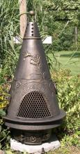 Garden Chiminea Outdoor Fireplace