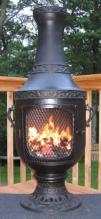 Venetian Chiminea Outdoor Fireplace