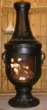 Venetian Chiminea Outdoor Fireplace W/Gas