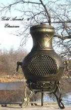 Etruscan Chiminea Outdoor Fireplace