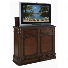 Crystal Pointe Brown TV Lift Cabinet
