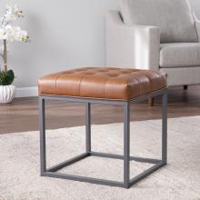 Ciarin Square Upholstered Ottoman