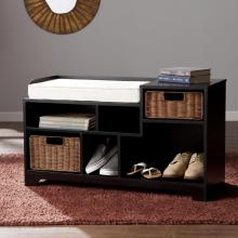 Wixshire Asymmetrical Storage Bench