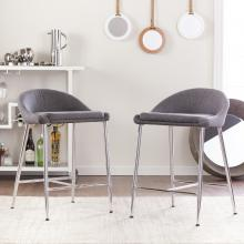 Holly & Martin Cabe Barstools - 2Pc Set