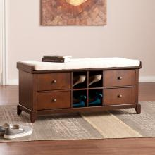 Hulen Shoe Storage Bench