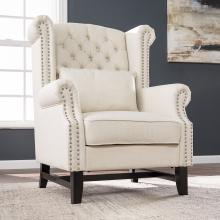 Ashington Upholstered Wingback Chair