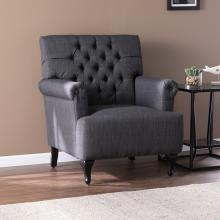 Amberley Tufted Upholstered Armchair - Gray