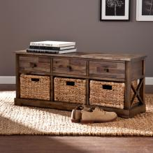 Jayton Storage Bench