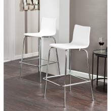 Holly & Martin Blence 2Pc Barstools - White