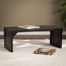 ESPRESSO SLAT BENCH/TABLE