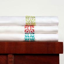 Bamboo Embroidered Sheet Set