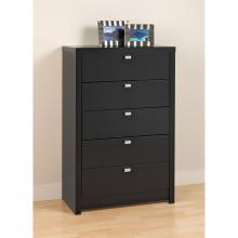 Black Series 9 Designer - 5 Drawer Chest