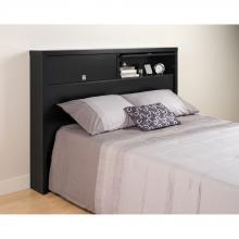 Black Series 9 Designer Full / Queen 2 Door Headboard