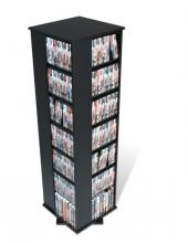Black Large 4-Sided Spinning Tower