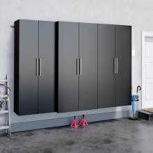 Black HangUps 102 inch Storage Set L - 3pc