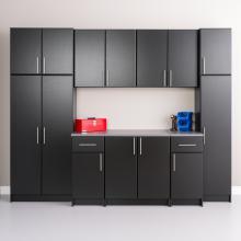 Black Elite 112 inch Storage Set A - 9 pc