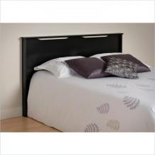 Black Full/Queen Coal Harbor Flat Panel Headboard