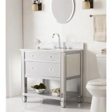 Mirage Bath Vanity Sink W/ Marble Top