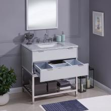 Halladale Mirrored Vanity Sink - Contemporary Style