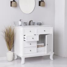 Wallingford Bath Vanity Sink w/ Marble Counter Top
