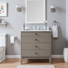 Lyleston Farmhouse Vanity Sink w/ Marble Top