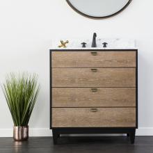 Holly & Martin Tobin Bath Vanity Sink w/ Marble Top
