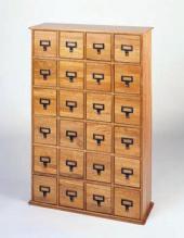 Library Design Media Cabinet