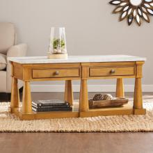 Grandview Faux Marble Cocktail Table
