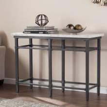 Tulane Faux Marble Console Table