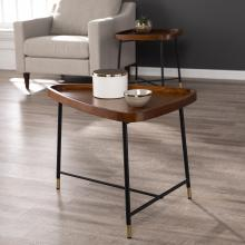 Morling Midcentury Modern Geometric End Table