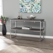 Lallston Contemporary Two-Tier Console Table