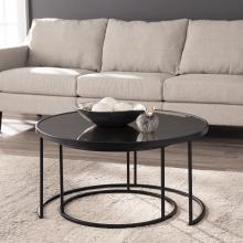 Downham Round Nestng Cocktail Tables - 2pc Set